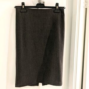 Costa Blanca Charcoal fitted pencil skirt xs